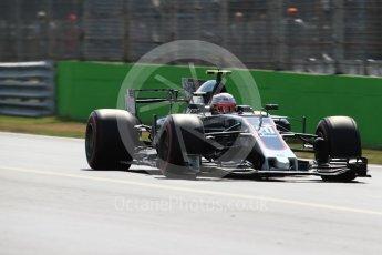 World © Octane Photographic Ltd. Formula 1 - Italian Grand Prix - Practice 2. Kevin Magnussen - Haas F1 Team VF-17. Monza, Italy. Friday 1st September 2017. Digital Ref: 1939LB1D2774