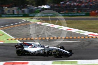 World © Octane Photographic Ltd. Formula 1 - Italian Grand Prix - Practice 2. Lance Stroll - Williams Martini Racing FW40. Monza, Italy. Friday 1st September 2017. Digital Ref: 1939LB2D8143