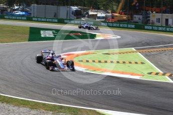 World © Octane Photographic Ltd. Formula 1 - Italian Grand Prix - Practice 2. Daniil Kvyat - Scuderia Toro Rosso STR12. Monza, Italy. Friday 1st September 2017. Digital Ref: 1939LB2D8272