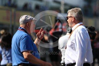 World © Octane Photographic Ltd. Formula 1 - Japanese Grand Prix - Grid. Ross Brawn – Managing Director of Liberty Media. Suzuka Circuit, Suzuka, Japan. Sunday 8th October 2017. Digital Ref:1979LB1D0234
