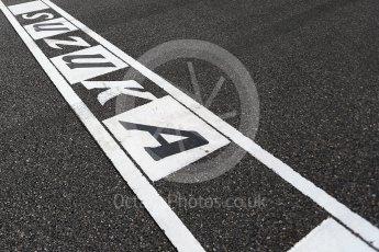 World © Octane Photographic Ltd. Formula 1 - Japanese Grand Prix - Sunday - Start Finish Line. Suzuka Circuit, Suzuka, Japan. Sunday 8th October 2017. Digital Ref:1979LB2D5336