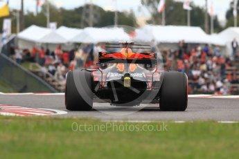 World © Octane Photographic Ltd. Formula 1 - Japanese Grand Prix - Saturday - Qualifying. Daniel Ricciardo - Red Bull Racing RB13. Suzuka Circuit, Suzuka, Japan. Saturday 7th October 2017. Digital Ref:1977LB1D9397