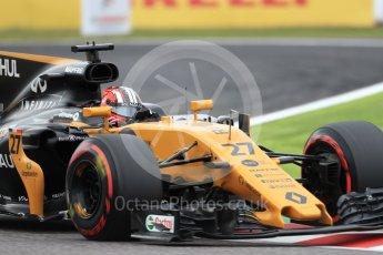 World © Octane Photographic Ltd. Formula 1 - Japanese Grand Prix - Saturday - Qualifying. Nico Hulkenberg - Renault Sport F1 Team R.S.17. Suzuka Circuit, Suzuka, Japan. Saturday 7th October 2017. Digital Ref:1977LB1D9491