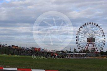 World © Octane Photographic Ltd. Formula 1 - Japanese Grand Prix - Saturday - Qualifying. Stoffel Vandoorne - McLaren Honda MCL32. Suzuka Circuit, Suzuka, Japan. Saturday 7th October 2017. Digital Ref:1977LB2D4521