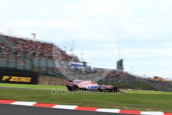 World © Octane Photographic Ltd. Formula 1 - Japanese Grand Prix - Saturday - Qualifying. Sergio Perez - Sahara Force India VJM10. Suzuka Circuit, Suzuka, Japan. Saturday 7th October 2017. Digital Ref:1977LB2D4582
