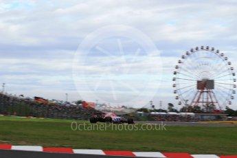 World © Octane Photographic Ltd. Formula 1 - Japanese Grand Prix - Saturday - Qualifying. Esteban Ocon - Sahara Force India VJM10. Suzuka Circuit, Suzuka, Japan. Saturday 7th October 2017. Digital Ref:1977LB2D4614