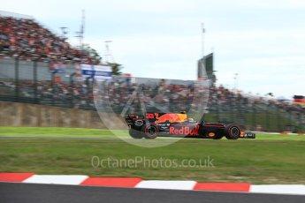 World © Octane Photographic Ltd. Formula 1 - Japanese Grand Prix - Saturday - Qualifying. Max Verstappen - Red Bull Racing RB13. Suzuka Circuit, Suzuka, Japan. Saturday 7th October 2017. Digital Ref:1977LB2D4699