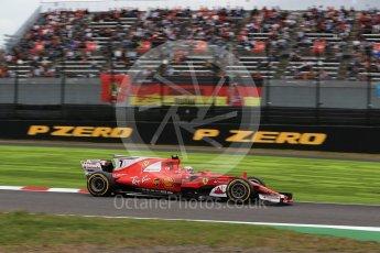 World © Octane Photographic Ltd. Formula 1 - Japanese Grand Prix - Saturday - Qualifying. Kimi Raikkonen - Scuderia Ferrari SF70H. Suzuka Circuit, Suzuka, Japan. Saturday 7th October 2017. Digital Ref:1977LB2D4861