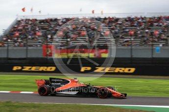 World © Octane Photographic Ltd. Formula 1 - Japanese Grand Prix - Saturday - Qualifying. Stoffel Vandoorne - McLaren Honda MCL32. Suzuka Circuit, Suzuka, Japan. Saturday 7th October 2017. Digital Ref:1977LB2D4905