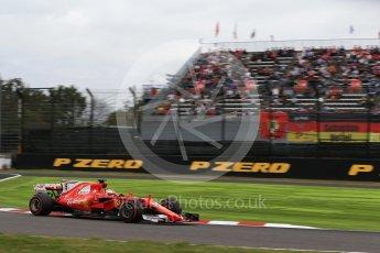 World © Octane Photographic Ltd. Formula 1 - Japanese Grand Prix - Saturday - Qualifying. Sebastian Vettel - Scuderia Ferrari SF70H. Suzuka Circuit, Suzuka, Japan. Saturday 7th October 2017. Digital Ref:1977LB2D4949