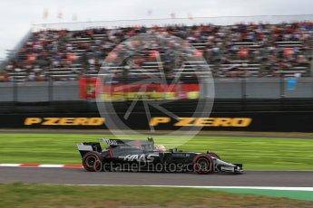 World © Octane Photographic Ltd. Formula 1 - Japanese Grand Prix - Saturday - Qualifying. Kevin Magnussen - Haas F1 Team VF-17. Suzuka Circuit, Suzuka, Japan. Saturday 7th October 2017. Digital Ref:1977LB2D4958