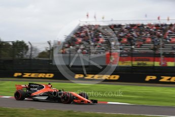 World © Octane Photographic Ltd. Formula 1 - Japanese Grand Prix - Saturday - Qualifying. Stoffel Vandoorne - McLaren Honda MCL32. Suzuka Circuit, Suzuka, Japan. Saturday 7th October 2017. Digital Ref:1977LB2D4989