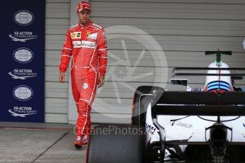 World © Octane Photographic Ltd. Formula 1 - Japanese Grand Prix - Saturday - Qualifying. Sebastian Vettel - Scuderia Ferrari SF70H. Suzuka Circuit, Suzuka, Japan. Saturday 7th October 2017. Digital Ref:1977LB2D5191