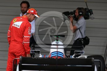 World © Octane Photographic Ltd. Formula 1 - Japanese Grand Prix - Saturday - Qualifying. Sebastian Vettel - Scuderia Ferrari SF70H. Suzuka Circuit, Suzuka, Japan. Saturday 7th October 2017. Digital Ref:1977LB2D5206
