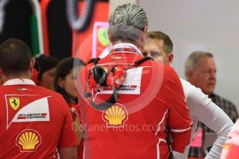 World © Octane Photographic Ltd. Formula 1 - Singapore Grand Prix - Practice 3. Sebastian Vettel - Scuderia Ferrari SF70H. Marina Bay Street Circuit, Singapore. Saturday 16th September 2017. Digital Ref:1962LB1D1137