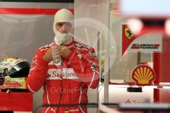 World © Octane Photographic Ltd. Formula 1 - Singapore Grand Prix - Practice 3. Sebastian Vettel - Scuderia Ferrari SF70H. Marina Bay Street Circuit, Singapore. Saturday 16th September 2017. Digital Ref:1962LB1D1187