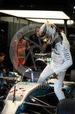 World © Octane Photographic Ltd. Formula 1 - Singapore Grand Prix - Practice 3. Lewis Hamilton - Mercedes AMG Petronas F1 W08 EQ Energy+. Marina Bay Street Circuit, Singapore. Saturday 16th September 2017. Digital Ref:1962LB1D1428