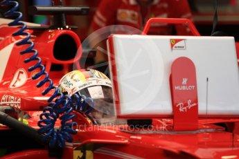World © Octane Photographic Ltd. Formula 1 - Singapore Grand Prix - Practice 3. Sebastian Vettel - Scuderia Ferrari SF70H. Marina Bay Street Circuit, Singapore. Saturday 16th September 2017. Digital Ref:1962LB1D1475