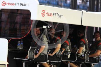 World © Octane Photographic Ltd. Formula 1 - Singapore Grand Prix - Paddock. Guenther Steiner - Team Principal of Haas F1 Team. Marina Bay Street Circuit, Singapore. Saturday 16th September 2017. Digital Ref:1962LB1D1651