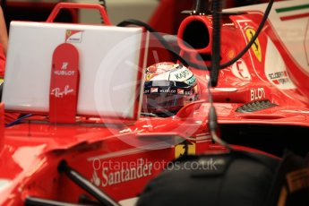 World © Octane Photographic Ltd. Formula 1 - Singapore Grand Prix - Practice 3. Kimi Raikkonen - Scuderia Ferrari SF70H. Marina Bay Street Circuit, Singapore. Saturday 16th September 2017. Digital Ref:1962LB1D1716