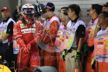 World © Octane Photographic Ltd. Formula 1 - Singapore Grand Prix - Qualifying. Kimi Raikkonen - Scuderia Ferrari SF70H. Marina Bay Street Circuit, Singapore. Saturday 16th September 2017. Digital Ref:1963LB1D2605