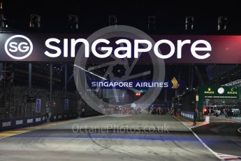 World © Octane Photographic Ltd. Formula 1 - Singapore Grand Prix - Race. rave preparation. Marina Bay Street Circuit, Singapore. Sunday 17th September 2017. Digital Ref: