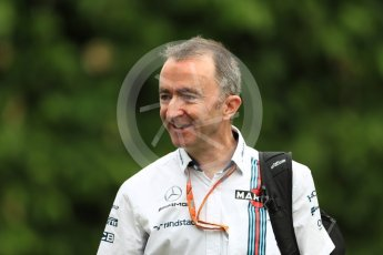 World © Octane Photographic Ltd. Formula 1 - Singapore Grand Prix - Paddock. Paddy Lowe - Chief Technical Officer at Williams Martini Racing. Marina Bay Street Circuit, Singapore. Saturday 16th September 2017. Digital Ref: 1961LB1D0758