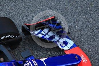 World © Octane Photographic Ltd. Scuderia Toro Rosso STR12 launch, Circuit de Barcelona-Catalunya. Sunday 26th February 2017. Digital Ref :1777CB1D5834