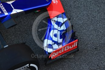 World © Octane Photographic Ltd. Scuderia Toro Rosso STR12 launch, Circuit de Barcelona-Catalunya. Sunday 26th February 2017. Digital Ref :1777CB1D5837