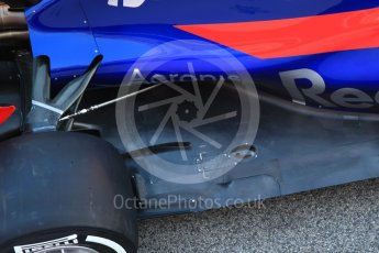 World © Octane Photographic Ltd. Scuderia Toro Rosso STR12 launch, Circuit de Barcelona-Catalunya. Sunday 26th February 2017. Digital Ref :1777CB1D5852