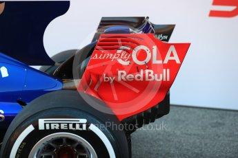 World © Octane Photographic Ltd. Scuderia Toro Rosso STR12 launch, Circuit de Barcelona-Catalunya. Sunday 26th February 2017. Digital Ref :1777LB1D7847