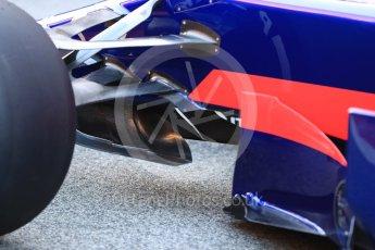 World © Octane Photographic Ltd. Scuderia Toro Rosso STR12 launch, Circuit de Barcelona-Catalunya. Sunday 26th February 2017. Digital Ref :1777LB1D7890