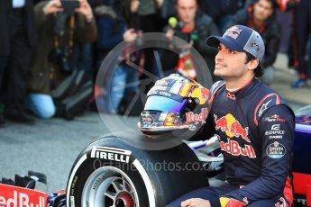 World © Octane Photographic Ltd. Scuderia Toro Rosso STR12 launch, Circuit de Barcelona-Catalunya. Sunday 26th February 2017. Digital Ref :1777LB1D7923