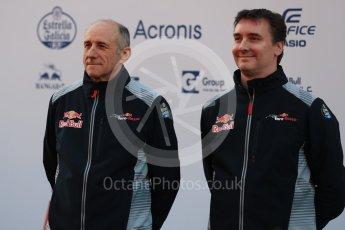 World © Octane Photographic Ltd. Scuderia Toro Rosso STR12 launch, Circuit de Barcelona-Catalunya. Sunday 26th February 2017. Digital Ref :1777LB1D7996