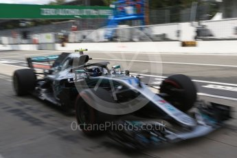 World © Octane Photographic Ltd. Formula 1 – Italian GP -Practice 3. Mercedes AMG Petronas Motorsport AMG F1 W09 EQ Power+ - Valtteri Bottas. Autodromo Nazionale di Monza, Monza, Italy. Saturday 1st September 2018.