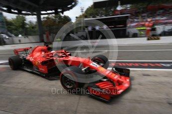 World © Octane Photographic Ltd. Formula 1 – Italian GP -Practice 3. Scuderia Ferrari SF71-H – Sebastian Vettel. Autodromo Nazionale di Monza, Monza, Italy. Saturday 1st September 2018.