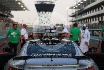 World © Octane Photographic Ltd. Formula 1 –  Abu Dhabi GP - Grid. Mercedes AMG GT Safety car. Yas Marina Circuit, Abu Dhabi. Sunday 25th November 2018.