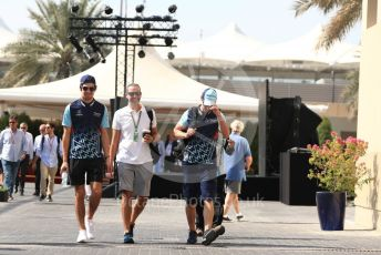 World © Octane Photographic Ltd. Formula 1 –  Abu Dhabi GP - Paddock. Williams Martini Racing FW41 – Lance Stroll. Yas Marina Circuit, Abu Dhabi. Saturday 24th November 2018.