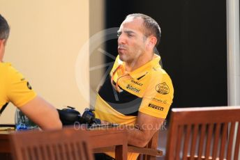 World © Octane Photographic Ltd. Formula 1 - Abu Dhabi GP - Paddock. Cyril Abiteboul - Managing Director of Renault Sport Racing Formula 1 Team. Yas Marina Circuit, Abu Dhabi. Friday 23rd November 2018.