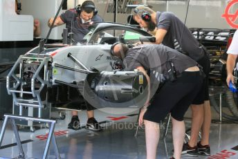 World © Octane Photographic Ltd. Formula 1 – Abu Dhabi GP - Practice 1. Haas F1 Team VF-18. Yas Marina Circuit, Abu Dhabi. Friday 23rd November 2018.