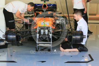 World © Octane Photographic Ltd. Formula 1 – Abu Dhabi GP - Practice 1. McLaren MCL33 – Fernando Alonso. Yas Marina Circuit, Abu Dhabi. Friday 23rd November 2018.