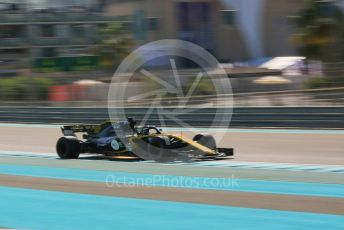 World © Octane Photographic Ltd. Formula 1 –  Abu Dhabi GP - Practice 1. Renault Sport F1 Team RS18 – Nico Hulkenberg. Yas Marina Circuit, Abu Dhabi. Friday 23rd November 2018.