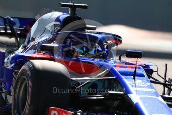 World © Octane Photographic Ltd. Formula 1 – Abu Dhabi GP - Practice 1. Scuderia Toro Rosso STR13 – Brendon Hartley. Yas Marina Circuit, Abu Dhabi. Friday 23rd November 2018.
