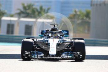 World © Octane Photographic Ltd. Formula 1 – Abu Dhabi GP - Practice 1. Mercedes AMG Petronas Motorsport AMG F1 W09 EQ Power+ - Lewis Hamilton. Yas Marina Circuit, Abu Dhabi. Friday 23rd November 2018.