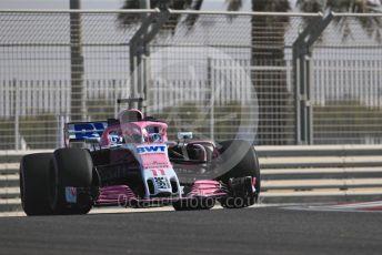 World © Octane Photographic Ltd. Formula 1 – Abu Dhabi GP - Practice 1. Racing Point Force India VJM11 - Sergio Perez. Yas Marina Circuit, Abu Dhabi. Friday 23rd November 2018.