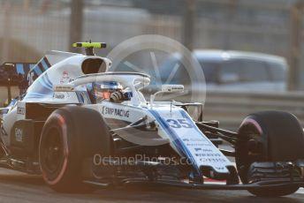 World © Octane Photographic Ltd. Formula 1 –  Abu Dhabi GP - Practice 2, Williams Martini Racing FW41 – Sergey Sirotkin. Yas Marina Circuit, Abu Dhabi. Friday 23rd November 2018.