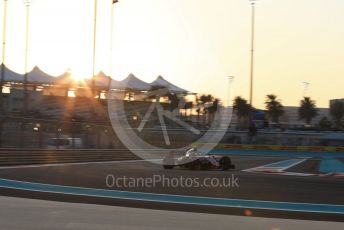 World © Octane Photographic Ltd. Formula 1 –  Abu Dhabi GP - Practice 2. Haas F1 Team VF-18 – Kevin Magnussen. Yas Marina Circuit, Abu Dhabi. Friday 23rd November 2018.