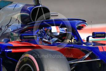 World © Octane Photographic Ltd. Formula 1 –  Abu Dhabi GP - Practice 3. Scuderia Toro Rosso STR13 – Pierre Gasly. Yas Marina Circuit, Abu Dhabi. Saturday 24th November 2018.