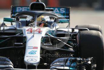 World © Octane Photographic Ltd. Formula 1 – Abu Dhabi GP - Practice 3. Mercedes AMG Petronas Motorsport AMG F1 W09 EQ Power+ - Lewis Hamilton. Yas Marina Circuit, Abu Dhabi. Saturday 24th November 2018.