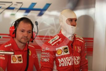 World © Octane Photographic Ltd. Formula 1 – Abu Dhabi GP - Practice 3. Scuderia Ferrari SF71-H – Sebastian Vettel. Yas Marina Circuit, Abu Dhabi. Saturday 24th November 2018.